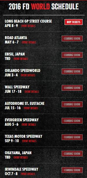 Formula Drift World 2016