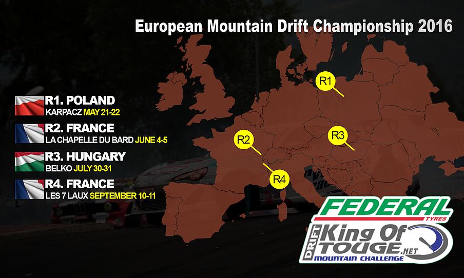 King of Touge European Mountain Challenge 2016