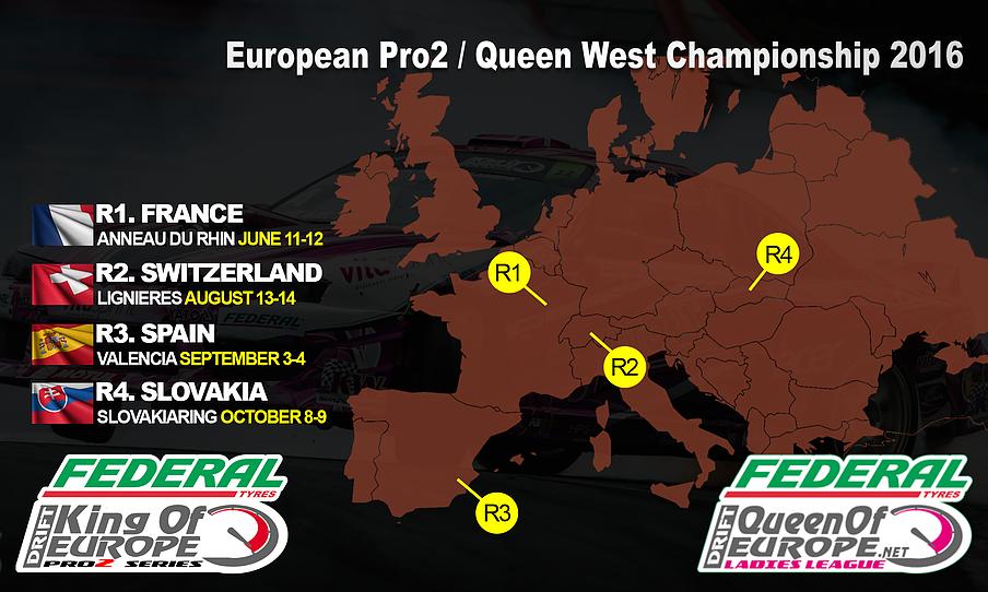 Queen of Europe West Europe 2016