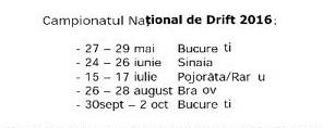 Национален дрифт шампионат на Румъния 2016