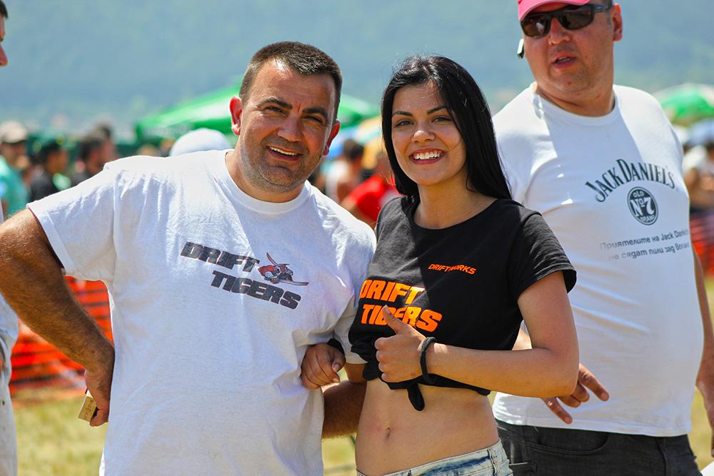 Кристалина Стефанова с баща си